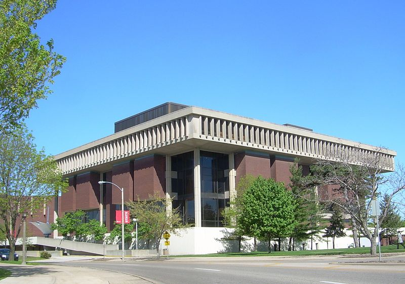 Milner Library in Normal, IL